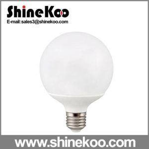 Aluminium Plastic E27 G95 10W LED Global Lamp pictures & photos