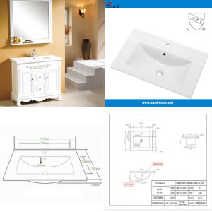 Ceramic/Porcelain Sanitary Ware Wash Basin with Cupc Certfication (SN5000-60) pictures & photos
