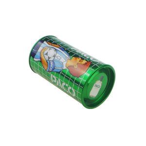 Round Perfume Tin Box for Sports Man Perfume Tin Box Package pictures & photos