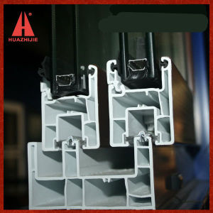 UPVC Window Frame PVC Metariel PVC Profile for Window and Door pictures & photos