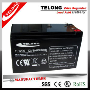 12V9ah Mf Lead Acid Battery with CE RoHS UL pictures & photos
