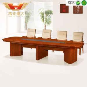 Modern Negotiation Office Wooden Conference Table