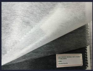 Non-Woven Double-DOT Fusing Interlining for Garment pictures & photos
