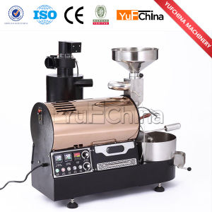 Temperature Adjustable 1kg Gas Coffee Roaster pictures & photos