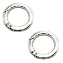 Fashion High Quality Metal Bag Hook Clasp Round Ring pictures & photos