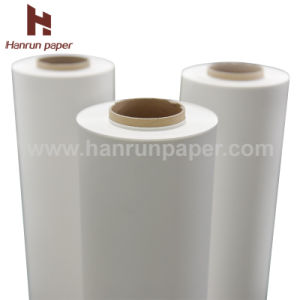 Instant Dry 45GSM Sublimation Transfer Paper Roll Size for Polyester pictures & photos