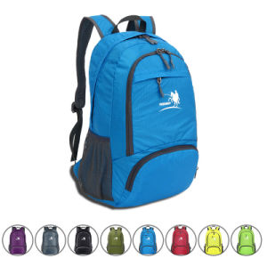 35L Foldable Waterproof Nylon Outdoor Camping Sports Backpack Bag (YKY7285) pictures & photos