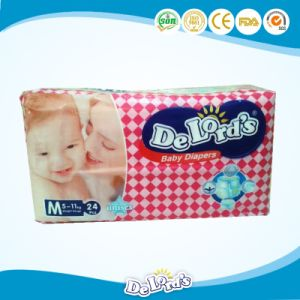 Disposable Baby Diaper for Baby with Vecro Tape pictures & photos