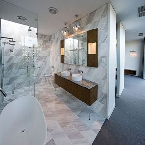 Natural Stone Polished Tiles Volakas White Marble Floor Tile pictures & photos