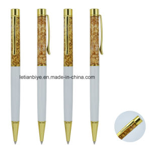 Gold Foil Paper Floated Promotion Gift Pen (LT-C055) pictures & photos
