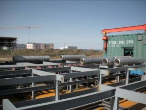 Containerized Pipe Prefabrication Line pictures & photos