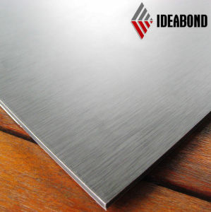 Sandwich Panel Ideabond Brushed Aluminum Composite Panel pictures & photos