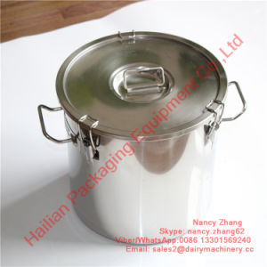Oxidation-Resisting Steel Milk Container with Food Grade Sealing Ring pictures & photos