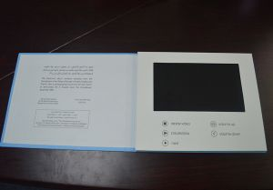 Cheap Promotional Gift 7′′ LCD Screen Video Greeting Brochure (VC-070) pictures & photos