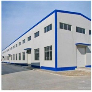 Construction Low Cost Warehouse Steel Frame Building pictures & photos