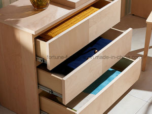 Modern Wooden Stretchable Computer Desk with Chest of Drawers (N703-ST) pictures & photos