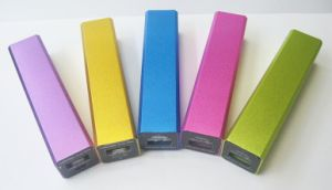The Hight Quality3000mAh Metal Power Bank for Mobile Phone pictures & photos