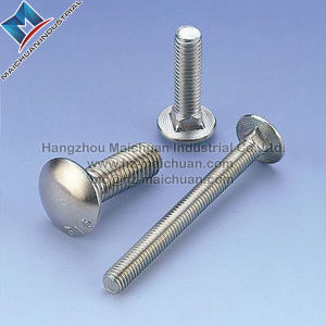 China Metric M20 Carriage Bolt 8.8 DIN603 pictures & photos