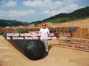 Inflatable Culvert Rubber Balloon for Culvert and Concrete Sold to Kenya (300, 600, 900, 1200mm etc.) pictures & photos