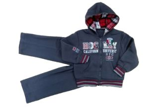 Fleece Boy Hoodies Boy Sports Wear Boy Jacket Boy Suits pictures & photos