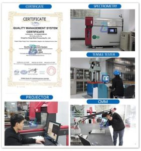 ISO 9001 Steel Cutters Metal CNC Laser Cutting Parts pictures & photos