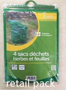 PVC Bag 110L/150L Bag Waste Bag Plastic Woven Garden Bags pictures & photos