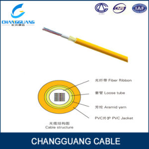 Indoor Ribbon Fibre Cable Gjfdv High Quality Wholesale 24 Core Fiber Optic Cable pictures & photos