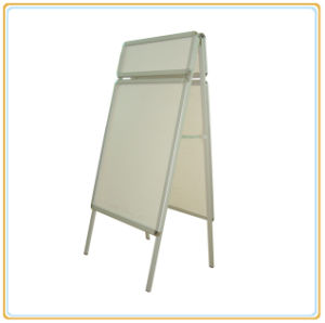 Aluminum Advertising Double Side A1 Size Poster Stands pictures & photos