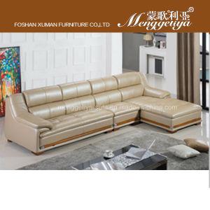 Top Grain Leather Traditional Sofa (802#)