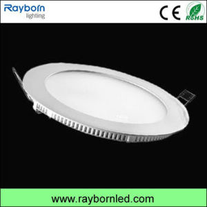 Factory Ultra Thin 9W/12W/15W Round LED Panel Light with Ce RoHS pictures & photos