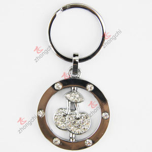 Alloy Crystals Alloy Cherry Key Chain (KR-56) pictures & photos