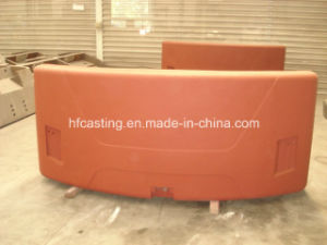 Iron Casting, Sand Casting, Counterweight for Material Handling Machinery pictures & photos