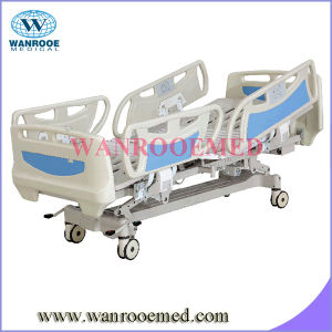 Five Functions Electric Hospital Bed with Long Siderails pictures & photos