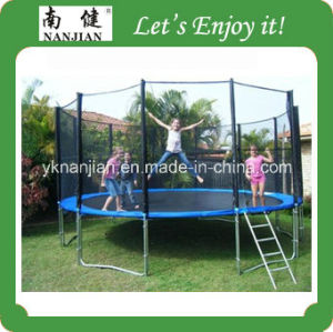 15ft Bungee Trampoline for Sale China Trampoline with Safety Net pictures & photos