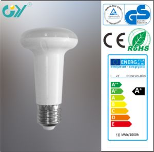 New R63 10W E27 6000k Ra80 LED Bulb (For Indoor) pictures & photos