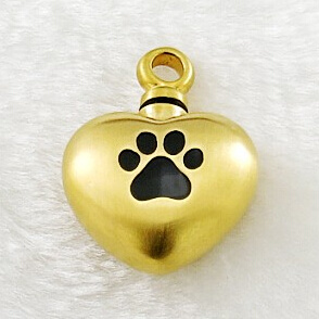 Hollow Perfume Bottle/Ash Gold Heart Pendant pictures & photos