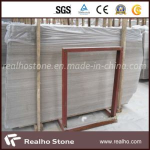 Promotional Marble Grey Wood Vein Marble for Project Decoration