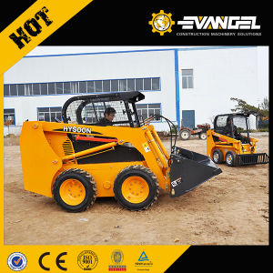 Factory Price Hysoon Mini Skid Loader From China pictures & photos