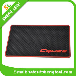Black Rectangle Shape Anti Slip Mat for Promotion (SLF-AP028) pictures & photos