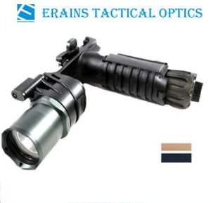 Erains Tac Optics Tactical 550 Lumens Dura Aluminum Grip & LED Light LED Flashlight with Reading Lamp Attached with Qd Mount pictures & photos