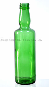 Glass Beverage Bottle Emerald Green (YL350-001EG) pictures & photos