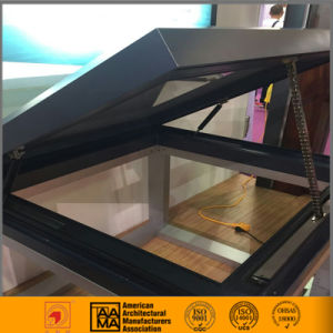 USA Electric Opening Double Glazed Skylight with Insect Screen pictures & photos
