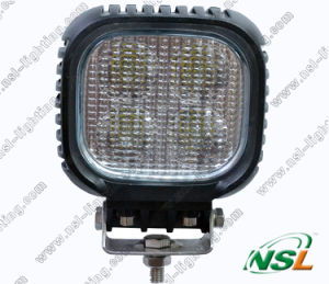 CREE 40W 5 Inch Square, LED Work Lamp Flood Light 10-30V, LED Offroad Driving Fog Super Bright Light pictures & photos