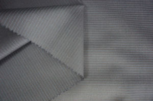 100%Wool Wool Fabric for Suit Streak pictures & photos