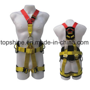 Polyester Adjustable Professional Protective Security Industrial Full-Body Harness Safety Belt pictures & photos