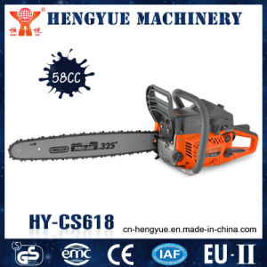 58cc New Model for Gasoline Chain Saw 5800 pictures & photos