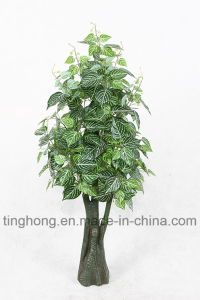 New Design Artificial Plants with 324 Zebra Leaves