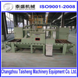 large steel structure sand blasting machine cabinet