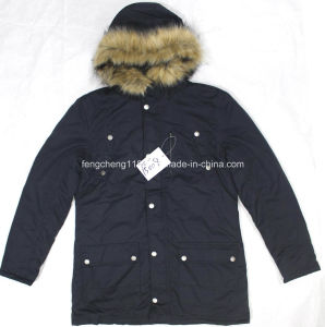Men Outdoor Winter Padding Jacket/Coat with Fur Hoody pictures & photos