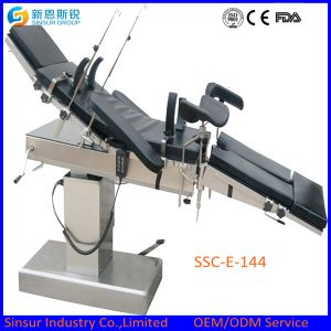 China Radiolucent Hospital OT Use Electric Operating Room Table pictures & photos